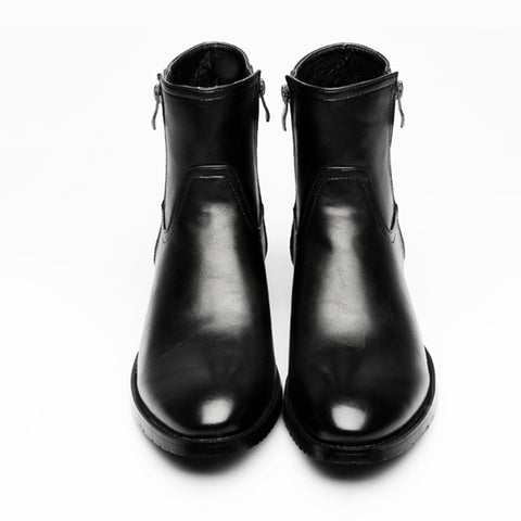 Chelsea Boots Shoes High Top Genuine Leather