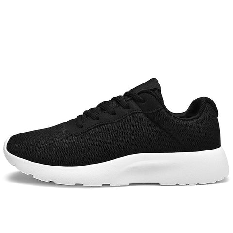 Casual Shoes Lac-up Shoes Breathable Mesh Knit Sneakers