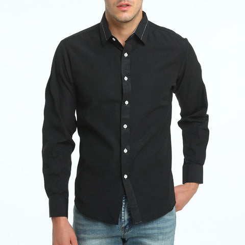 Brand High Quality Cotton Short Sleeve Male Casual Business Dress Shirts