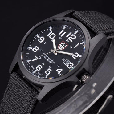 Hot Sale Nylon strap Style Quartz Watch Top