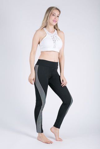 Fitness Leggings Light High Elastic Shine Leggins Workout