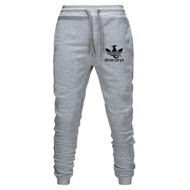 Dragon Sweatpants Solid Cotton Trousers High Street Pants