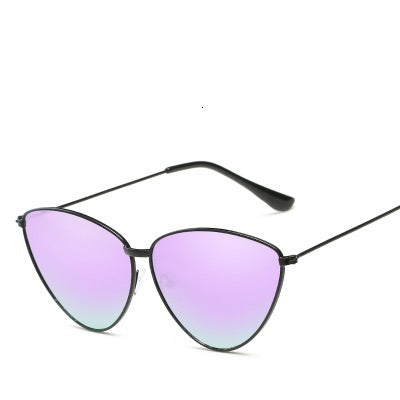 Sexy Small Vintage Metal Ladies Cat Eye Retro Brand Designer Cateye Sunglasses