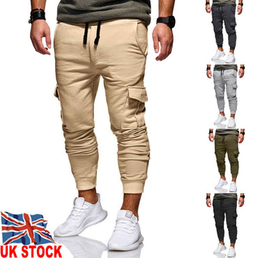 Multi-pocket Harem Hip Pop Pants Trousers Streetwear Sweatpants