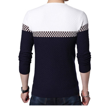 Business Leisure Pullover V-ausschnitt Fit Slim Knitted Sweater