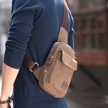 Local stock Crossbody Bags Canvas One Shoulder