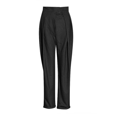 Harem High Waist Causal Loose Trouser Female Clothes Fashion Elegant Pants