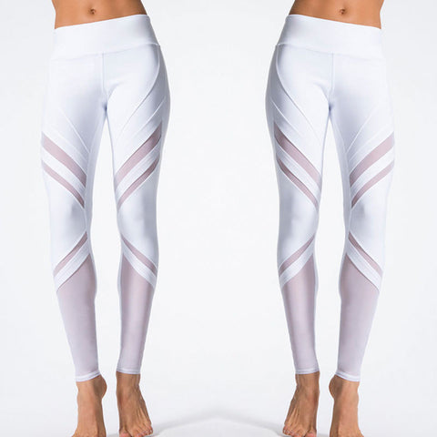 High Waist Fitness Leggings Stretch Pants Trousers Stylish