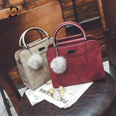 Leather Handbags High Quality Luxury Lady Tote Shoulder Bags