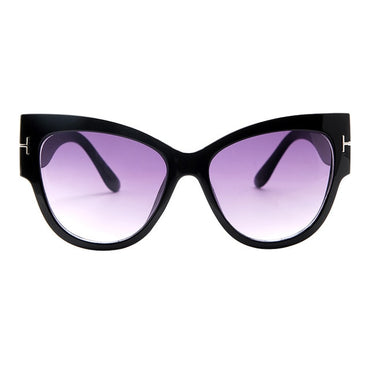 New Brand Sunglasses Luxury Designer T Fashion Black Cat Eye