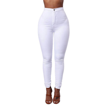Skinny Jeans High Waist Denim Wash Plus Push Up Trousers Pants