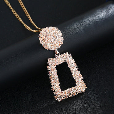 Metal Geometric Chains Necklace Fashion