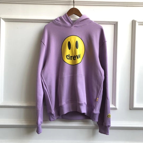 Drew House New Color Smile Face Printed Justin Bieber Hoody