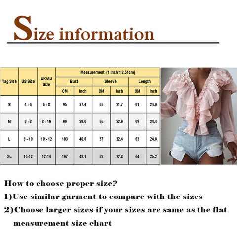 Blouse Ladies Casual Long Sleeve Top Shirt Loose Female