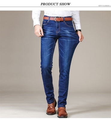 Fashion Jeans Business Casual Stretch Slim Jeans