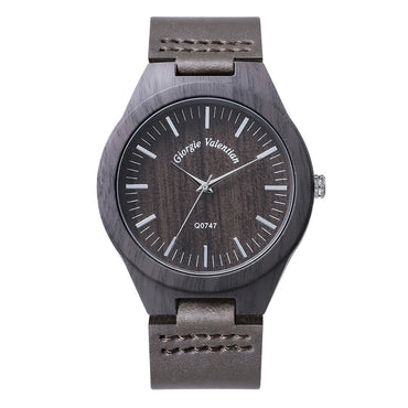 Top Brand Luxury Watch relogio masculino Black Wood Watches