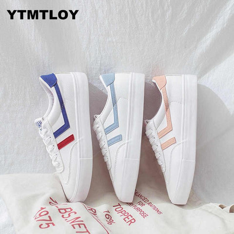 Fashion Tenis Feminino Slimming White Sneakers Casual Breathable Shoes