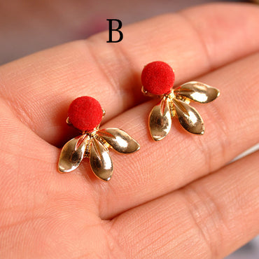 designed fashionable stud mix and match beautiful earrings gift