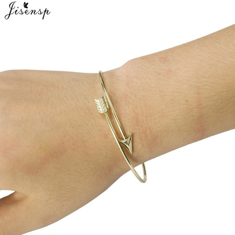 New Fashion Design Arrow Bangle Cuff Jewelry Vintage Open Bracelet Bangles