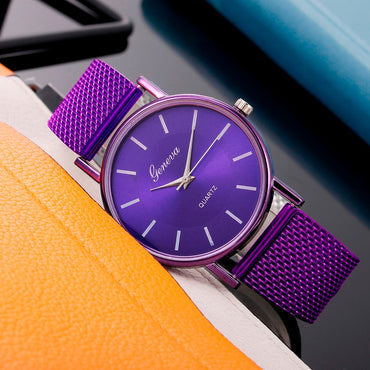 Casual Silicone Strap Quartz Watch Top Brand Girls Bracelet