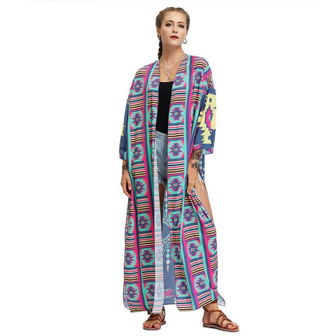 Sweater Bohemian Chic Ladies Long Sleeve Cardigan High Quality Hot Sale