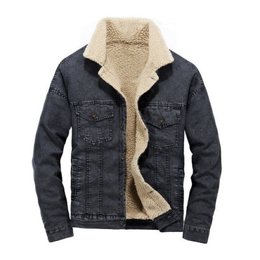 Fashion Brand Jean Jackets Outerwear Warm Denim Coats