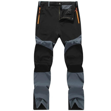 Soft Shell Outdoor Pants Waterproof Walking Hiking Trousers