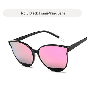 Fashion Brand Design Vintage Metal Frame Female Glasses