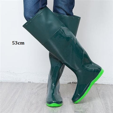 Knee High Rain Boots Water Fields Transplanting Shoes