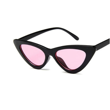 Retro Sunglasses Cat Eye Triangle Sunglasses Cute Lady