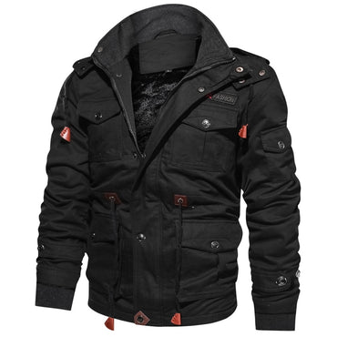 Thick Warm Military Bomber Tactical Jackets Outwear Fleece Breathable