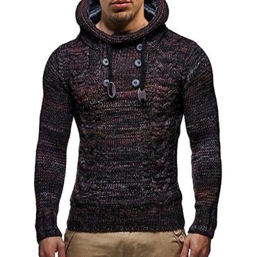 Hooded Sweaters Male Cotton Jumper Fashion