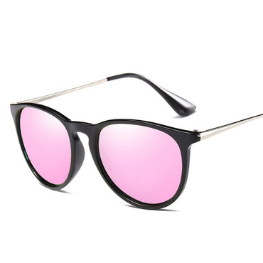 Luxury Brand Polarized Gold Rose Mirror Sun Glasses