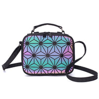 Ladies Small Shoulder Bag Geometric Handbag Crossbody Bags
