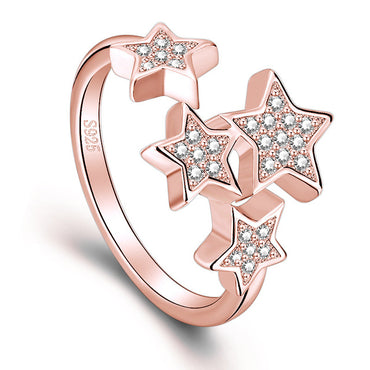 Adjustable Rings Little Star Exquisite Personality Fashion Jewelry