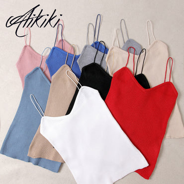 Sleeveless Cotton Bustier Unpadded Bandeau Bra Vest Crop Tee Top