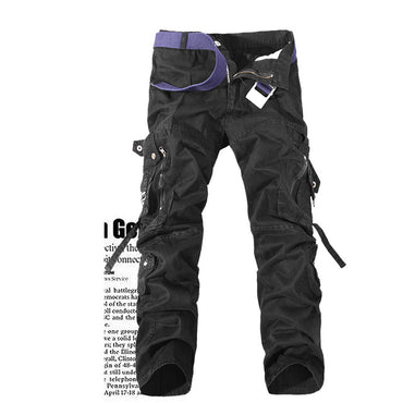 Army Camouflage Cargo Tactical Military Pants Brand Multi-pocket Overalls Trousers