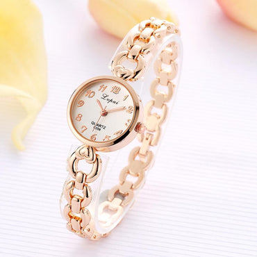 Gold Vintage Luxury Clock Women Bracelet Watch Ladies Brand Luxury