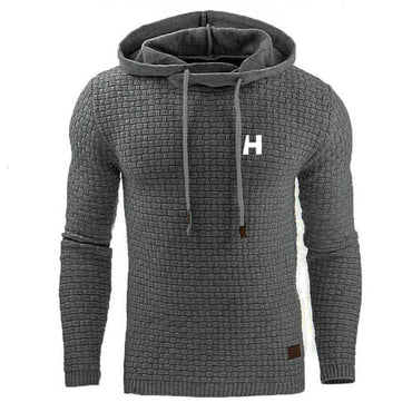 warm knitted sweater HH casual hooded pullover
