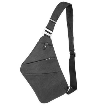 New Osoce Nylon Crossbody Shoulder Chest Thin Sling Casual Bag