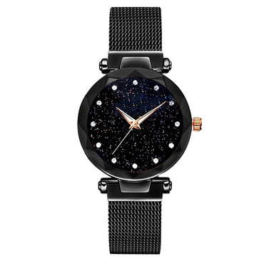 Wrist Watch Luxury Sta-rry Sky Watch Magnetic Band
