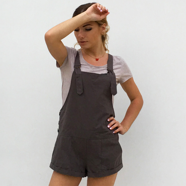 Cotton Rompers Button Fashion New Playsuits Style