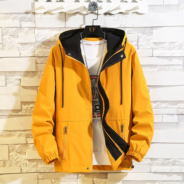 Casual Jacket Loose Hooded Jackets and Coats