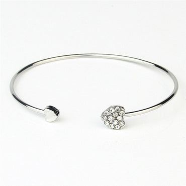 Hot New Fashion Cuff Opening Bracelets Adjustable Crystal