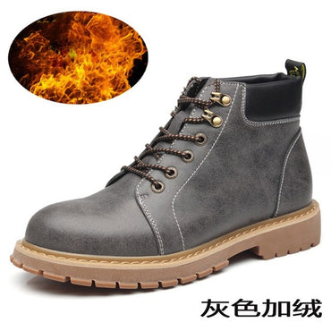 New Leather Boots Ankle  Fashion Boots