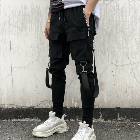 Cargo Pant Side Pockets Pencil Hip Hop