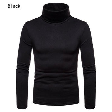 Turtleneck Pullover Casual Slim Fit Knitted Basic Sweater