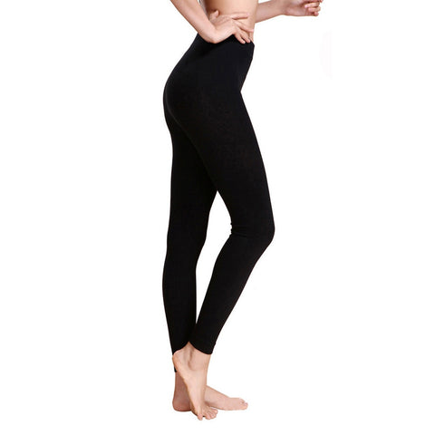 Athletic Leggings Sport Fitness Elastic Running Black Work Out