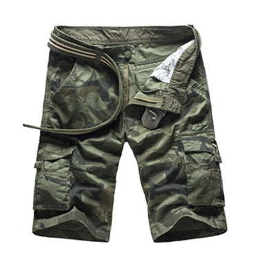 Camouflage Camo Cargo Casual Shorts Male Loose Work Shorts