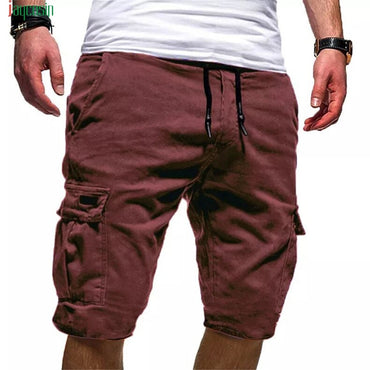 Military Cargo Shorts New Solid Tactical Shorts Cotton Loose Work